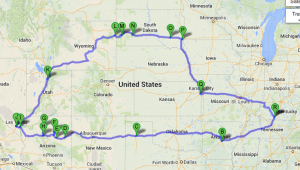 Heading West – Our Road Trip to Salt Lake City, Utah
